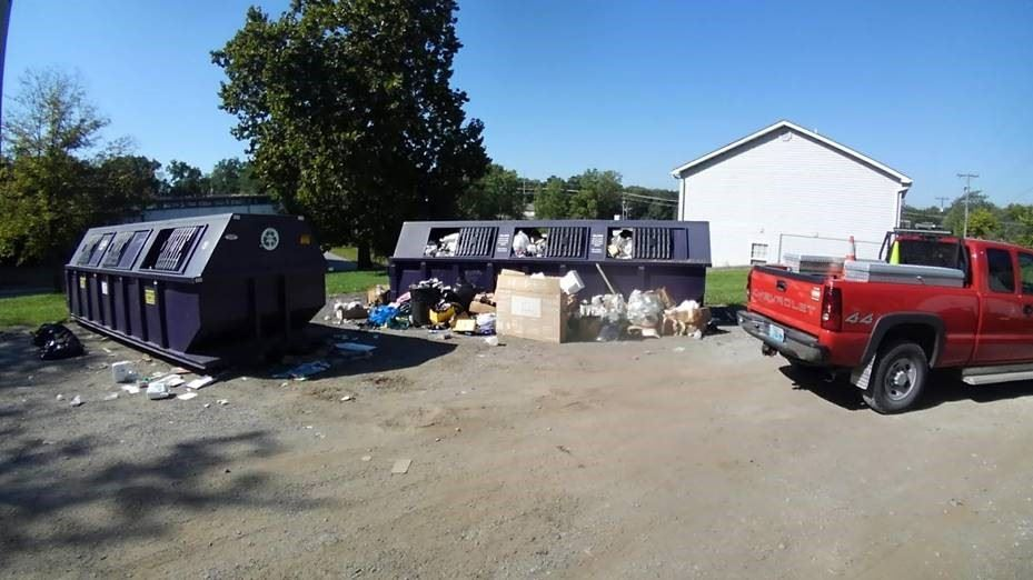 Recycling Center Closure