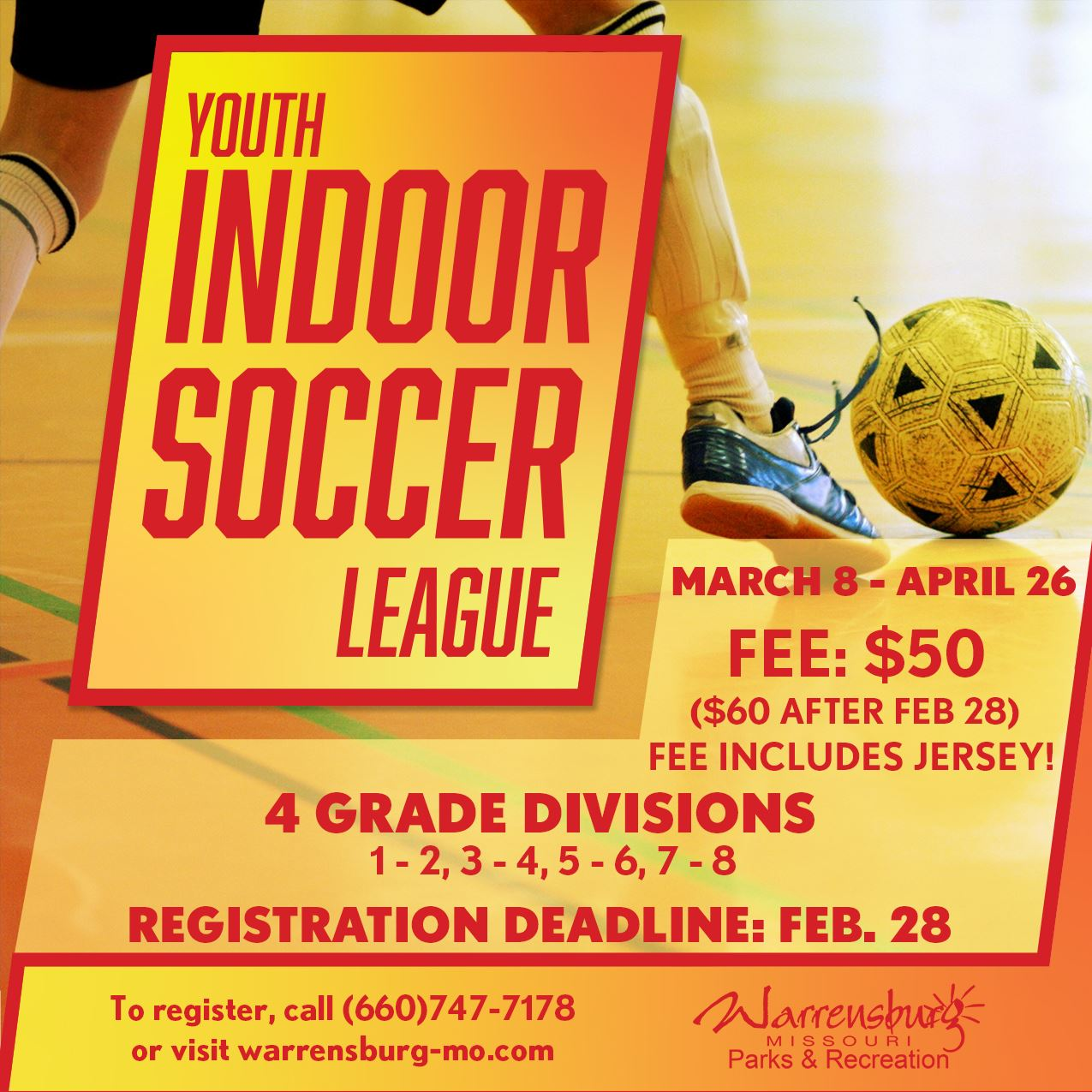 Indoor Soccer Web Spring 2021