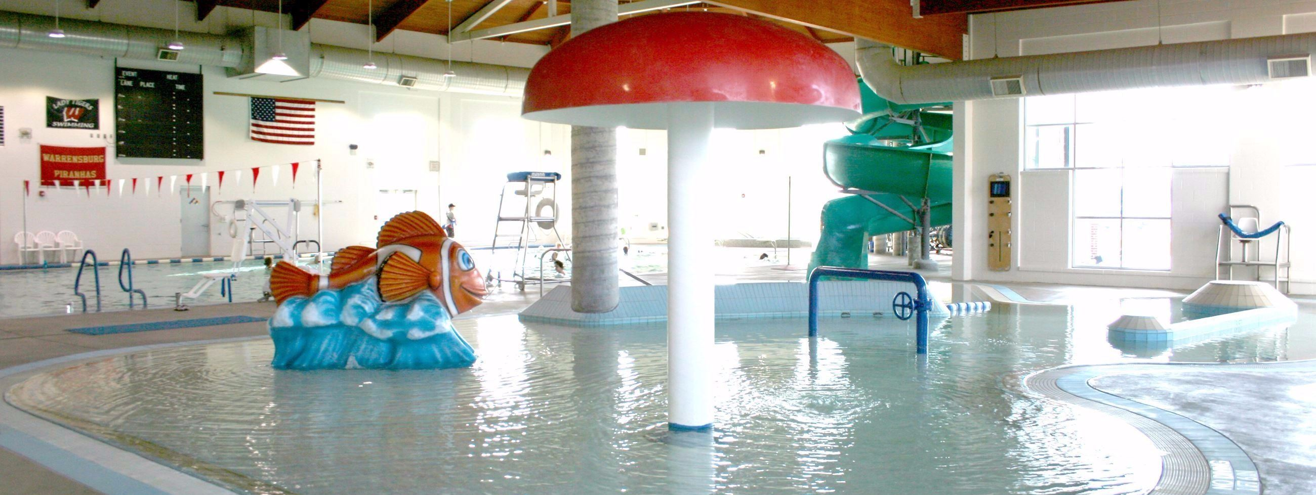indoor pool and hot tub with a slide. INDOOR POOL HOURS August 17-May 24 Indoor Pool And Hot Tub With A Slide