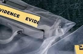 Investigations webpage_gun in evidence bag